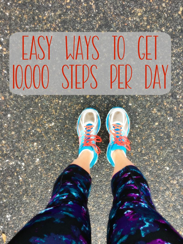 Looking to move more? It's been a goal of mine for a while. Today, I'm sharing these easy ways to get 10000 steps per day!