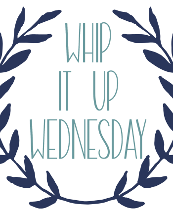 Show off your favorite handmade crafts, recipes, and projects at this week's Whip it Up Wednesday linky party! #WhipItUpWednesday
