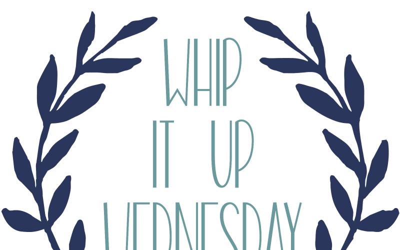 Join a fun craft, recipe, and DIY linky party! #WhipItUpWednesday