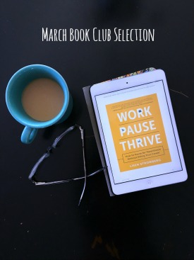 Looking for work life balance? Grab a copy of Work Pause Thrive is a must read for parents and expectant parents! #WorkPAUSEThrive #ad