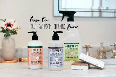Make Bathroom Cleaning Fun