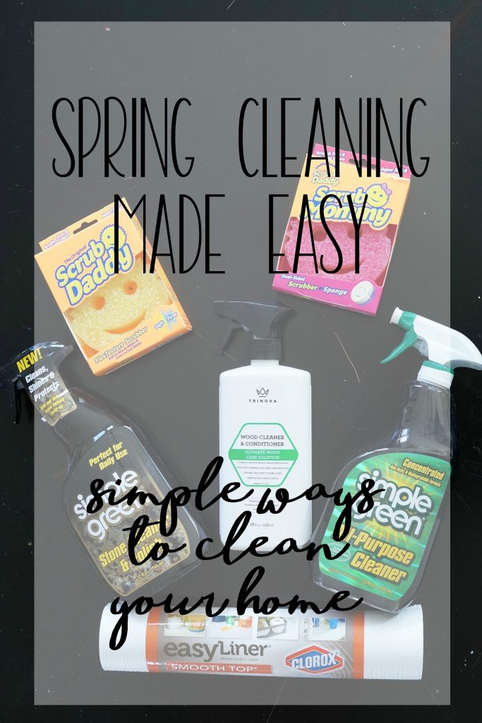 Read how this blogger tackles spring cleaning with these simple ways to clean your home.
