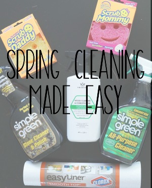 Spring Cleaning Made Easy::  Simple Ways to Clean Your Home