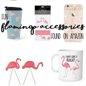 Fun Pink Flamingo Accessories to Buy from Amazon