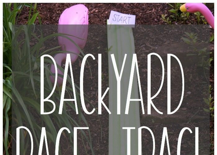 DIY Backyard Race Track