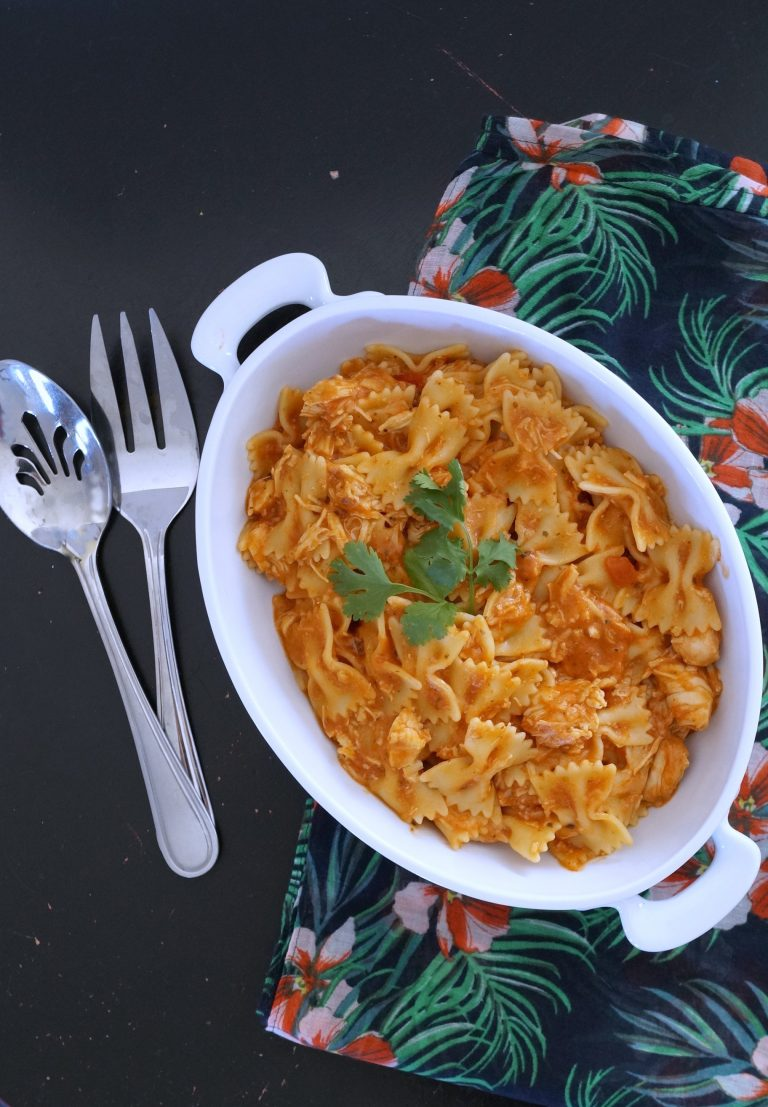 Easy One-Pot Chicken Mozzarella Pasta