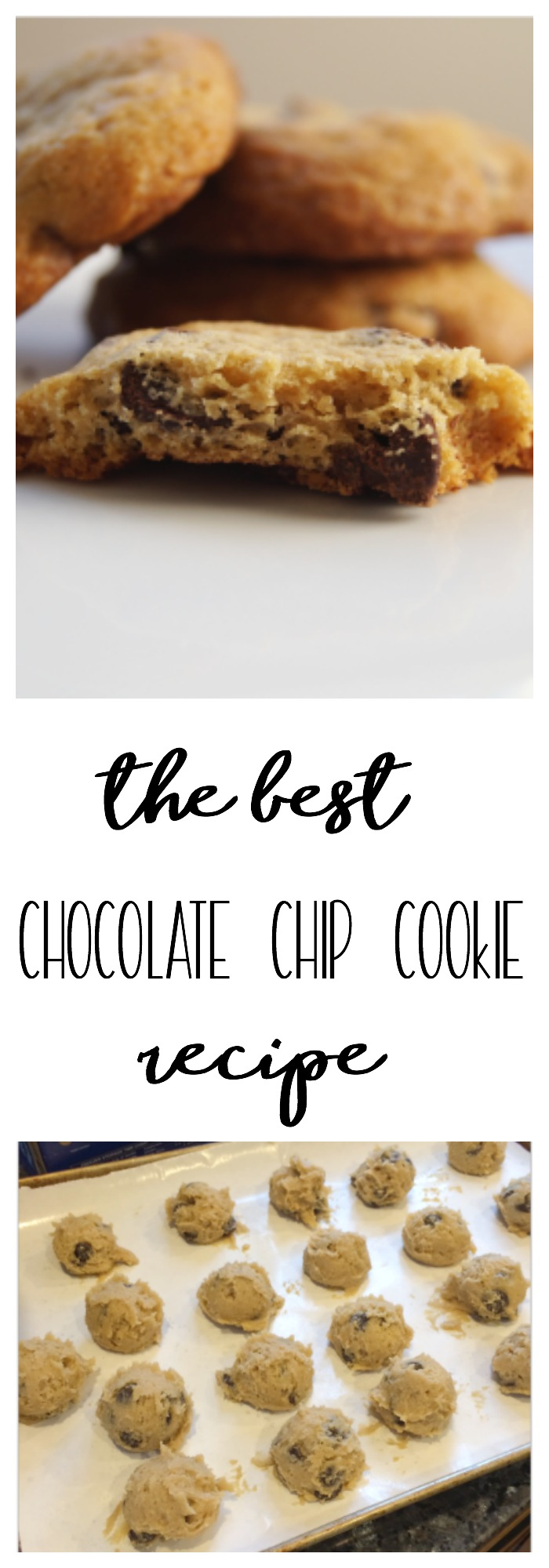 This is the best chocolate chip cookie recipe you will ever taste!