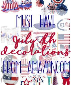 Fun July Fourth Decorations to Buy from Amazon