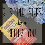 3 Simple Steps to a Better You