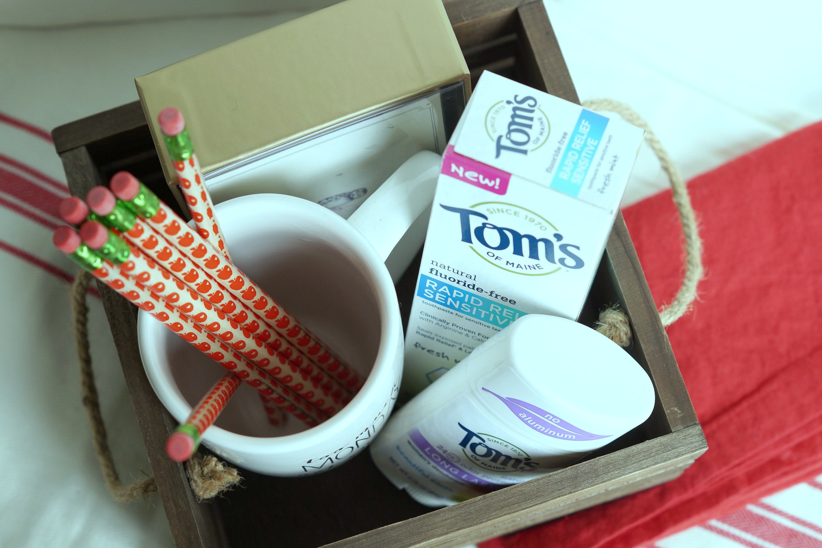 Basket Making Supplies Maine : Back to school teacher gift basket