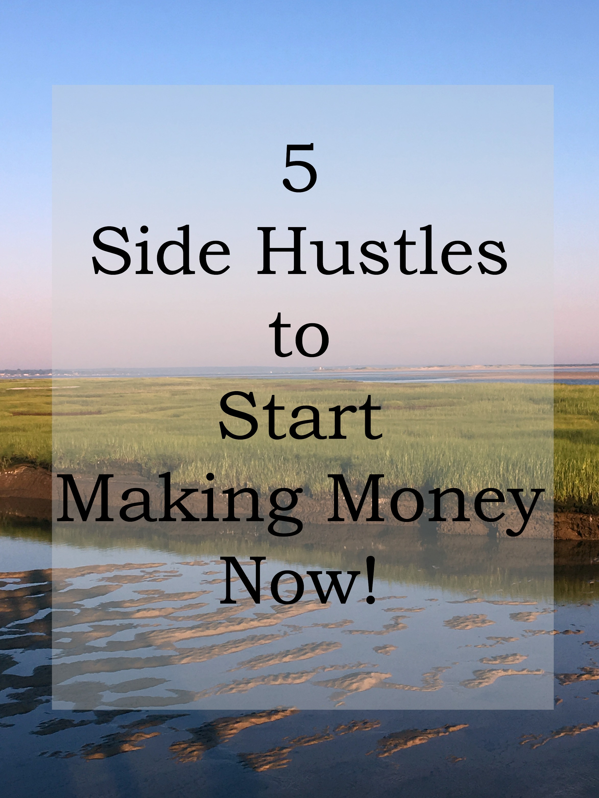 Looking for a way to increase your family's income? Check out these great side hustles to make money now!