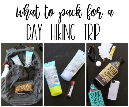 Packing for a Day Hiking Trip on Cape Cod