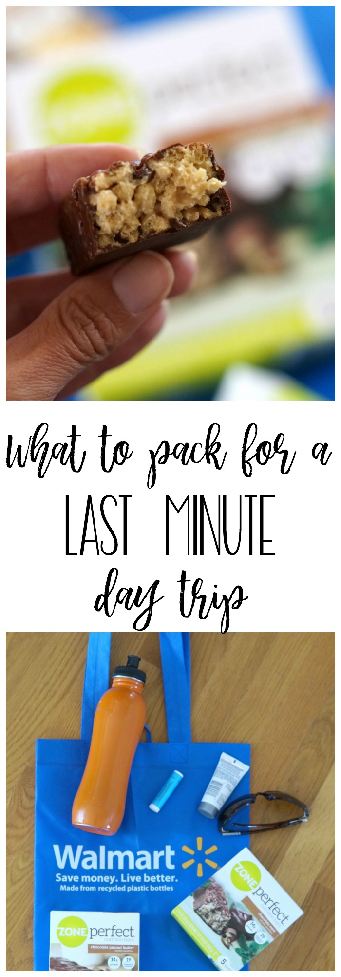 Planning a quick, last minute day trip getaway? Follow these easy tips for what to pack for a last minute day trip! #MyLittleWins