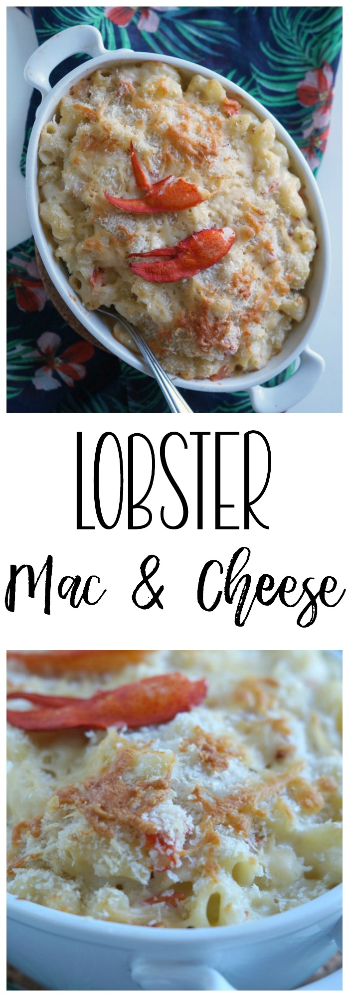This creamy and delicious Lobster Mac and Cheese is fancy enough for the weekend, but you'll want to serve it on weeknights. AD