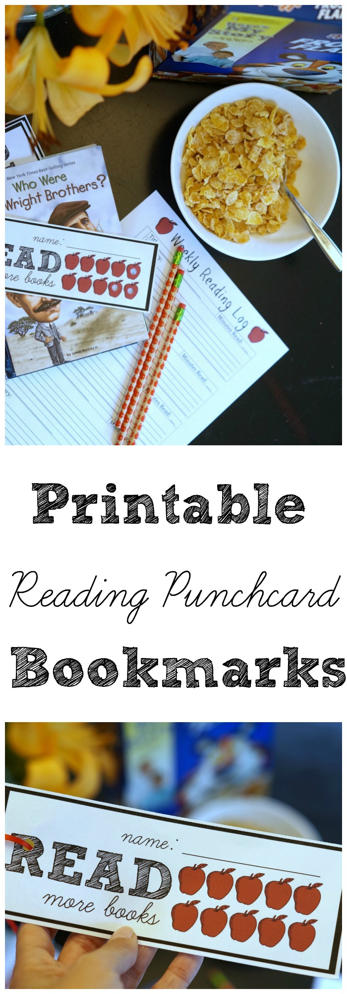 Encourage and reward emerging readers with these printable reading punchcard bookmark for kids. Track daily required reading easily!