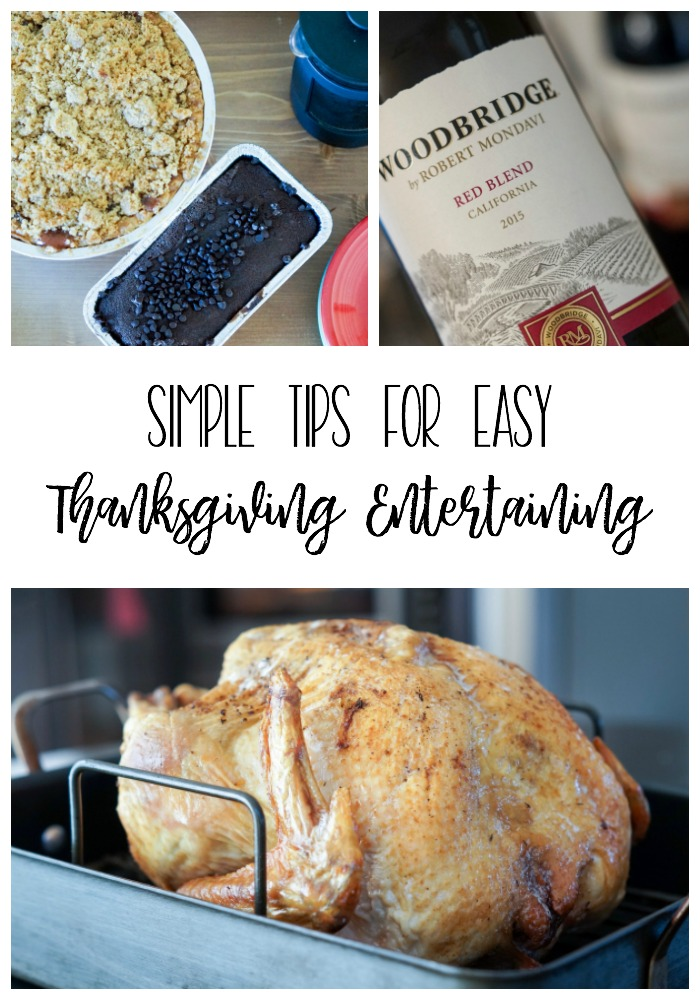 Thanksgiving is all about spending time with family and enjoying it! Follow these easy Thanksgiving entertaining tips for hosting a fun and relaxing day!