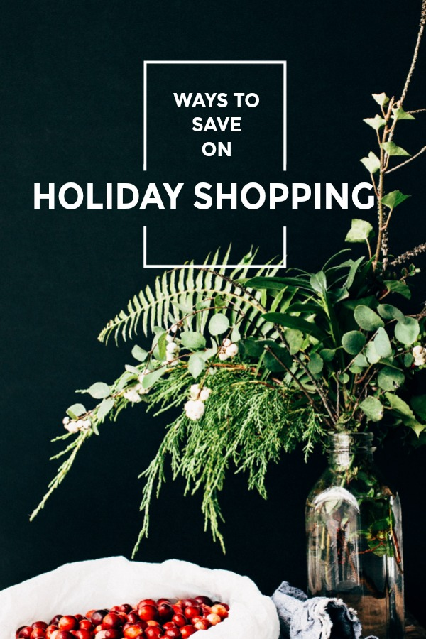The holiday shopping season is upon us! Check out these easy ways to save on holiday shopping and enjoy the magic of the season!