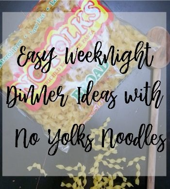 Looking for an easy weeknight dinner idea? Check out these great dinner ideas featuring No Yolks Broad Noodles. #NoYolks #NoOtherNoodle #AD