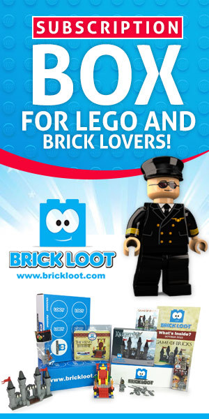 Brick Loot is THE subscription box service for the LEGO lover in your life! Makes a great holiday gift!