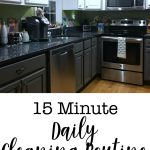 15 Minute Daily Cleaning Routine
