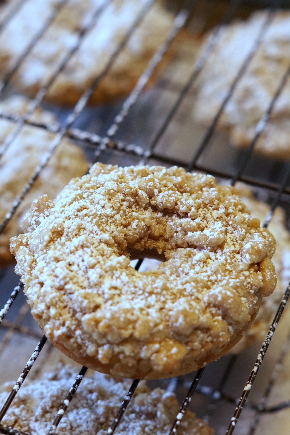 Looking for the perfect pairing for a hot cup of coffee? Look no further than this easy to make coffee cake donut recipe. Grab your oven mitt and get baking!