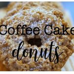 Coffee Cake Donut Recipe
