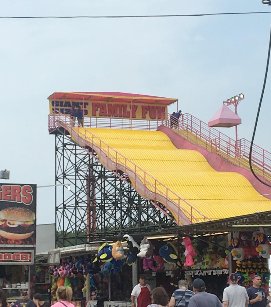 Marshfield Fair Giant Slide